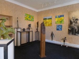Exposition en la galerie Bénédicte Giniaux à Bergerac